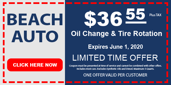 Beach Auto Oil Change & Tire Rotation
